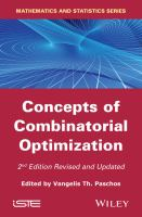 Concepts of combinatorial optimization [electronic resource]