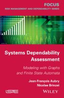 Systems dependability assessment [electronic resource] : modeling with graphs and finite state automata
