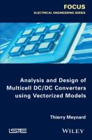 Analysis and design of multicell DC/CD converters using vectorized models [electronic resource]