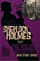 Book cover for Sherlock Holmes and the Veiled Detective