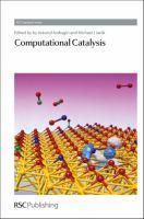 Computational Catalysis [electronic resource]