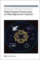 Metal organic frameworks as heterogeneous catalysts [electronic resource]