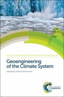 Geoengineering of the climate system [electronic resource]