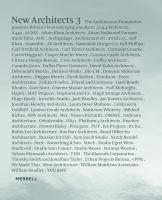 New architects. 3.