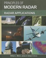 Principles of modern radar. Volume III, Radar applications [electronic resource]