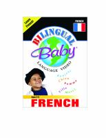 BILINGUAL BABY - FRENCH (DVD)