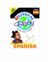 Bilingual Baby language video: Volume 2, Spanish