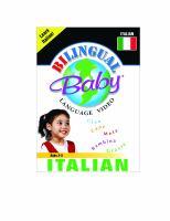 BILINGUAL BABY - ITALIAN (DVD)