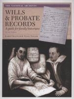 Wills & Probate Records