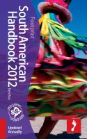 South American Handbook 2012