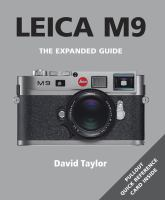 Leica M9 [electronic resource]