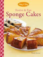 Festive & fun sponge cakes
