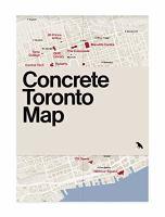 Concrete Toronto map /