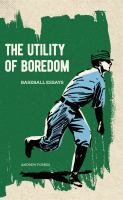book cover image The Utility of Boredom