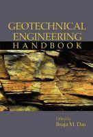 Geotechnical engineering handbook [electronic resource]