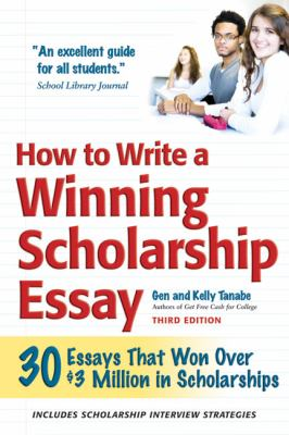 cover of the book How to Write a Winning Scholarship Essay