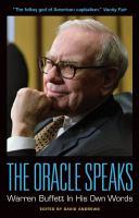 The oracle speaks : Warren Buffett in his own words