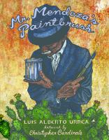 Cover of the book Mr. Mendoza's paintbrush