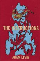 Book cover for The Instructions by Adam Levin