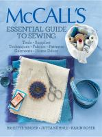 McCall's Essential Guide to Sewing by Brigitte Binder, Jutta Kuhnle, Karin Roser