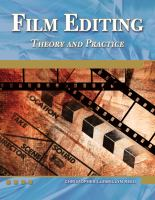Film editing : theory and practice