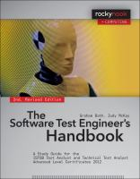 The software test engineer's handbook : a study guide for the ISTQB test analyst and technical test analyst advanced level certificates 2012