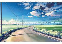 the art of Makoto Shinkai.