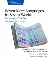Seven more languages in seven weeks : languages that are shaping the future