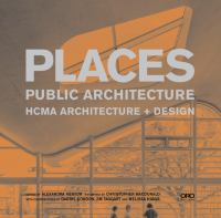 Places (Oro Editions)