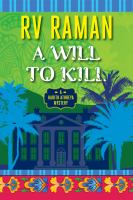 Title: A will to kill Author:Raman, R. V