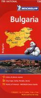 Bulgaria : road and tourist map /