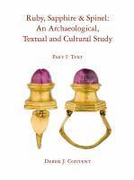 an archaeological, textual and cultural study