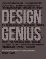 Design genius : the ways and workings of creative thinkers