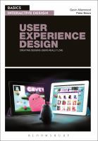 User experience design : creating designs users really love