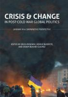 Crisis and change in post-cold war global politics : Ukraine in a comparative perspective /