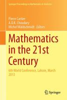 Mathematics in the 21st Century [electronic resource] : 6th World Conference, Lahore, March 2013