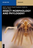 Insect morphology and phylogeny [electronic resource] : a textbook for students of entomology