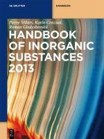 Handbook of inorganic substances 2013 / [electronic resource] .