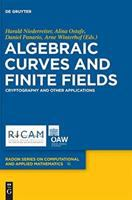 Algebraic curves and finite fields [electronic resource] : cryptography and other applications