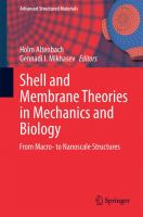 Shell and membrane theories in mechanics and biology : from macro- to nanoscale structures