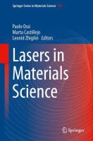 Lasers in Materials Science [electronic resource]