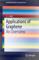 Applications of graphene [electronic resource] : an overview