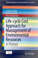Life-cycle Cost Approach for Management of Environmental Resources [electronic resource] : A Primer