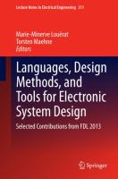 Languages, Design Methods, and Tools for Electronic System Design [electronic resource] : Selected Contributions from FDL 2013