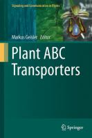 Plant ABC transporters [electronic resource]