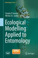 Ecological Modelling Applied to Entomology [electronic resource]