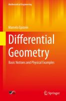 Differential geometry [electronic resource] : basic notions and physical examples
