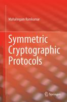Symmetric Cryptographic Protocols [electronic resource]