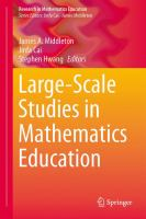 Large-scale studies in mathematics education [electronic resource]