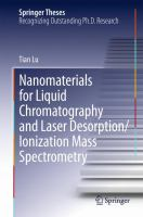 Nanomaterials for liquid chromatography and laser desorption/ionization mass spectrometry [electronic resource]